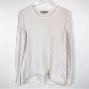 Ann Taylor high low hem super soft sweater